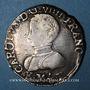Coins Charles IX (1560-1574). Teston, 1er type. 1562K. Bordeaux. Légende fautive !