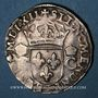 Coins Charles IX (1560-1574). Teston, 1er type. 1562K. Bordeaux. Légende fautive !