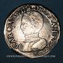 Coins Charles IX (1560-1574). Teston, 1er type, 1563M. Toulouse
