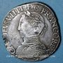 Coins Charles IX (1560-1574). Teston, 1er type. 1564H. La Rochelle