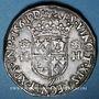 Coins Charles IX (1560-74). Monnayage au nom de Henri II. Teston du Dauphiné 1561Z Grenoble (Z non pointé)