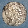 Coins Charles V (1364-1380). Blanc au K (20 avril 1365)