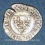 Coins Charles VI (1380-1422). Blanc guénar à l'O rond, 2e émission (1389). Mâcon