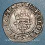 Coins Charles VI (1380-1422). Gros dit florette, 2e émission (1417). Paris