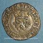 Coins Charles VI (1380-1422). Gros dit florette, 3e émission (7 mars 1419). Paris (point 17e au revers)