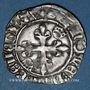 Coins Charles VI (1380-1422). Gros dit florette, 5e émission (2.7.1419). Troyes (annelet 14e)