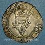 Coins Charles VI (1380-1422). Monnayage du dauphin Charles. Florette, 1ère émission (1419). Chinon