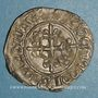 Coins Charles VI (1380-1422). Monnayage du dauphin Charles. Florette, 2e émission (1419). Bourges