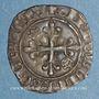 Coins Charles VI (1380-1422). Monnayage du dauphin Charles. Florette, 6e émission (septembre 1419). Tours