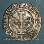Coins Charles VI (1380-1422). Monnayage du duc de Bourgogne (1417-1423). Florette, 4 émission . Mâcon