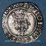 Coins Charles VI (1380-1422). Monnayage du duc de Bourgogne (1417-1423). Florette. Dijon (point 1er avers)
