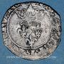 Coins Charles VI (1380-1422). Monnayage du duc de Bourgogne (1417-1423). Florette. Dijon