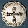 Coins Charles X, roi de la Ligue (1589-1590). 1/4 d'écu 1591A et point 18e. Paris