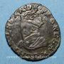 Coins Charles X, roi de la Ligue (1589-1590). Double tournois 1594P. Dijon