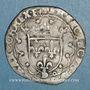 Coins François I (1515-1547). Douzain à la croisette. Lyon