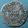 Coins François I (1515-1547). Teston, 25e type. Lyon (D et annelet 12e). Légende fautive d'avers ! ! !