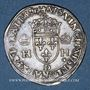 Coins Henri II (1547-1559). 1/2 teston, 1er type, 1552D et point 12e. Lyon
