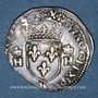 Coins Henri II (1547-1559). 1/2 teston, 2e type, 1558K. Bordeaux