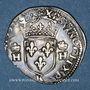 Coins Henri II (1547-1559). 1/2 teston, 2e type, 1558K. Bordeaux