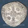 Coins Henri II (1547-1559). Douzain aux croissants 1550P et point 13e. Dijon