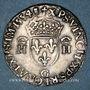 Coins Henri II (1547-1559). Teston, 2e type, 1554G. Poitiers