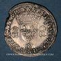 Coins Henri II (1547-1559). Teston, 2e type, 1554M et point 5e. Toulouse