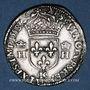 Coins Henri II (1547-1559). Teston, 2e type, 1558 K. Bordeaux