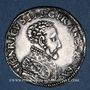 Coins Henri II (1547-1559). Teston, 2e type, 1558K. Bordeaux