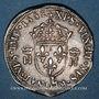 Coins Henri II (1547-1559). Teston, 2e type, 1558L. Bayonne