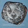 Coins Henri III (1574-1589). Double tournois 1584 T (point 5e). Nantes