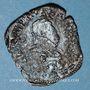 Coins Henri III (1574-1589). Double tournois 1584T (point 5e). Nantes