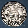Coins Henri IV (1589-1610). 1/4 d'écu, 2e type, 1601L et ancre. Bayonne