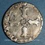 Coins Henri IV (1589-1610). 1/4 d'écu, 2e type, 1605K. Bordeaux