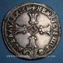 Coins Henri IV (1589-1610). 1/4 d'écu, 2e type, 1610 L. Bayonne