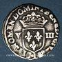 Coins Henri IV (1589-1610). 1/8 d'écu, 2e type, 1591L et ancre. Bayonne