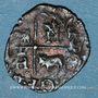 Coins Henri IV (1589-1610). Vaquette de Béarn, 2e type, n. d. Morlaas