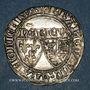 Coins Henri VI d'Angleterre (1422-1453). Blanc aux écus. Saint-Lô