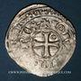 Coins Jean II le Bon (1350-1364). Blanc au châtel tréflé, 3e émission (17 mai 1354)