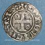 Coins Louis VII (1137-1180). Denier, 1er type, Mantes
