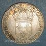 Coins Louis XIII (1610-1643). 1/2 écu, 2e poinçon de Warin. 1643 A. Point