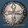 Coins Louis XIII (1610-1643). 1/4 d'écu de Navarre 1621F. Saint-Palais