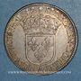 Coins Louis XIII (1610-1643). 15 sols, 2e poinçon de Warin 1642A. Rose