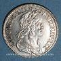 Coins Louis XIII (1610-1643). 15 sols, 2e poinçon de Warin 1643A