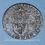Coins Louis XIII (1610-1643). Douzain illégal émis par les Huguenots 163(...) /double tournois 1630D (Lyon