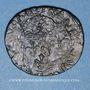 Coins Louis XIII (1610-1643). Douzain illégal émis par les Huguenots et refrappé  sur un double tournois