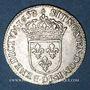 Coins Louis XIV (1643-1715). 1/12 d'écu à la mèche longue 1658D. Lyon