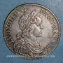 Coins Louis XIV (1643-1715). 1/2 écu à la mèche courte 1644A. Point