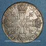 Coins Louis XIV (1643-1715). 1/2 écu aux 8L 1er type 1690 P. Dijon. Réformation