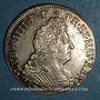 Coins Louis XIV (1643-1715). 1/4 d'écu aux 8 L  2e type. 1704 Z Grenoble. Réformation