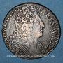 Coins Louis XIV (1643-1715). 1/4 écu aux 3 couronnes 1710&. Aix